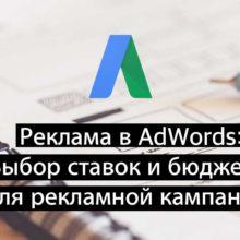 Какую стратегию назначения ставок в AdWords выбрать