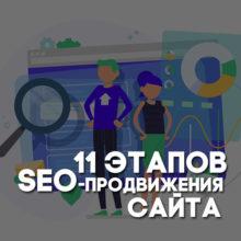 11 этапов SEO-продвижения сайта